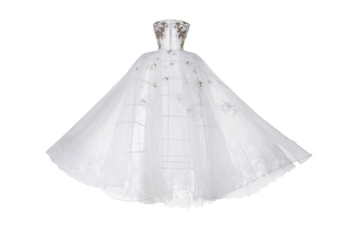 专属狮子座新娘的婚纱